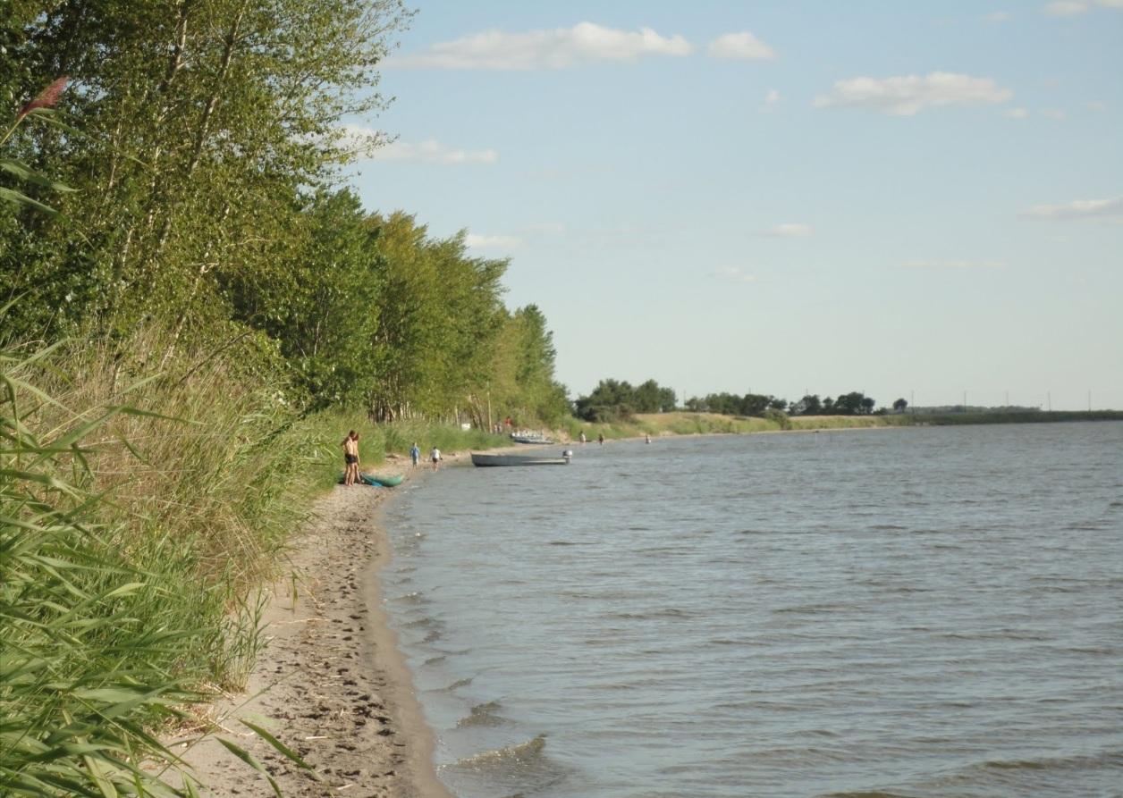 рыбалка на озере топольное