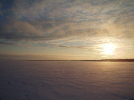 Озеро Лача. Архангельская область.