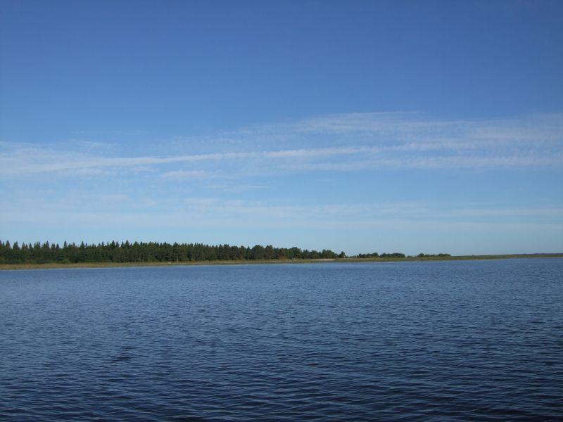 Страшная рыбалка на озере Воже