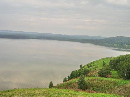 Озеро Большой Берчикуль. Кемеровская область.