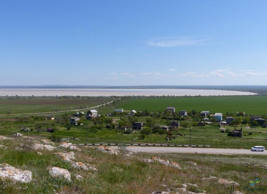 Соленые озера Крыма. Акташское озеро