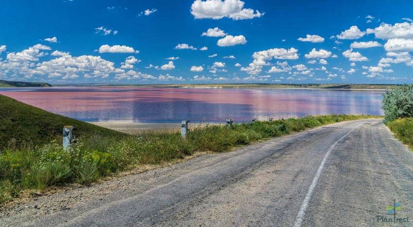 Соленые озера Крыма. Тобечикское озеро
