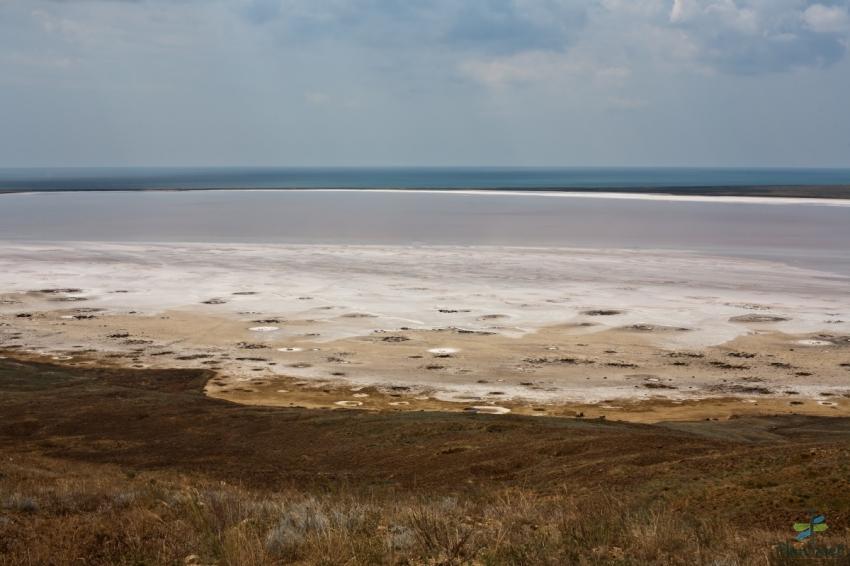 Соленые озера Крыма. Узунларское озеро