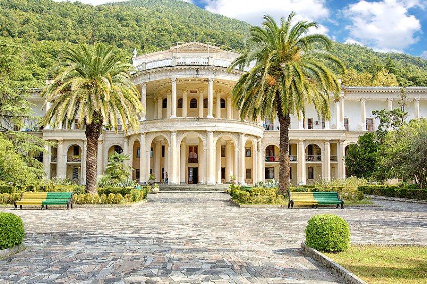 город Гагра, Абхазия