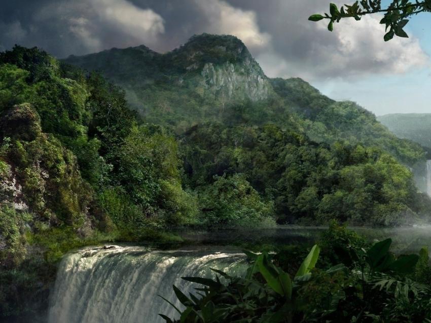 Природные объекты всемирного наследия. Гвианская Амазония