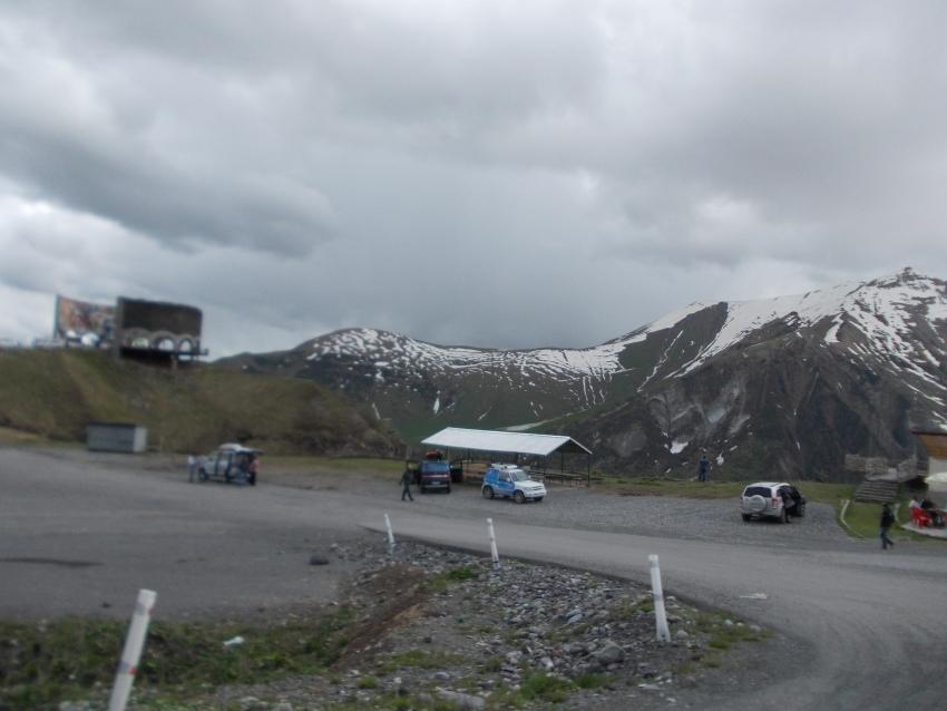 Крестовый перевал в Грузии