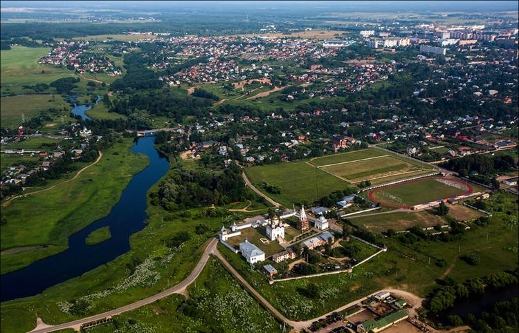 Можайск. Достопримечательности, что посмотреть за один день, фото, описание, туристический маршрут на карте