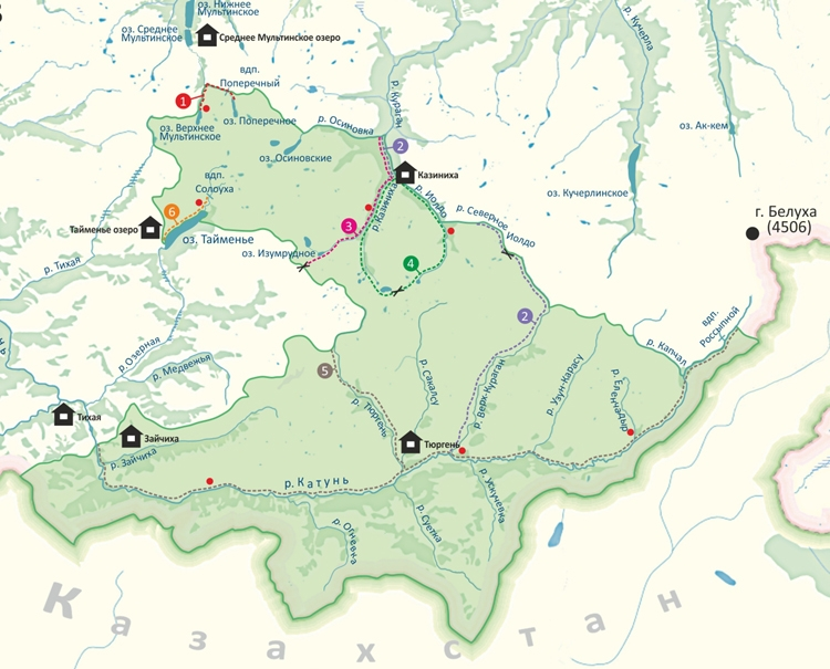 Алтайский заповедник Алтайского края. Где находится биосферный национальный парк, фото, природа, животные, описание