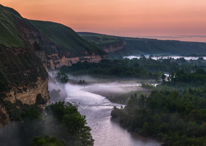 Река Кубань в Ставропольском крае