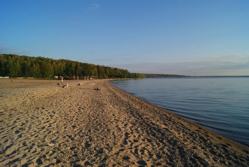 Пляжи Обского моря